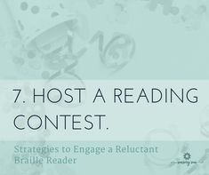 Make reading fun for a braille reader who is struggling to learn. Here are 10 ideas to engage kids by making reading braille a positive experience. Reading Braille, Braille Reader, Reading Contest, Literacy Skills, Coding, Positivity, Sun, Activities, Learning