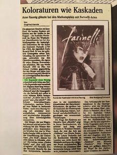 Arno Argos Raunig - Farinelli!(sopranist, countertenor, male-soprano) Arno, Musica