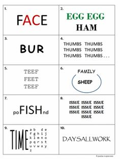Here is a printable set of rebus puzzles.  The answers are included just in case you get stuck and just gotta know.