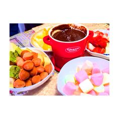 valentine's chocolate fondue ʚ♡⃛ɞ