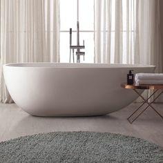 "VersaStone 68""x33"" Soaking Bathtub"