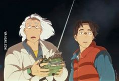 What if Back To The Future was made by Studio Ghibli..