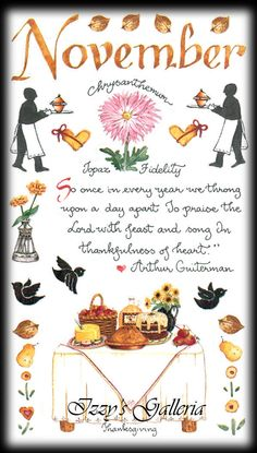 Susan Branch Vintage Retired November Thanksgiving Feast Fall Autumn Stickers | eBay