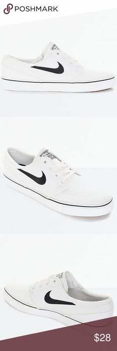 pretty nice 924bb d8f96 Nike SB Zoom Janoski Summit White Skate Shoes Nike SB Zoom Janoski Summit  White Canvas Skate