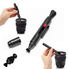3in1 Kit Lens For DSLR VCR DC Camera Canon Nikon Sony Cleaning Pen Dust Cleaner