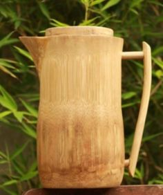 Bamboo Pitcher https://www.dragonflybamboo.com/bamboo-art/bamboo-pitcher Christopher Vetrano