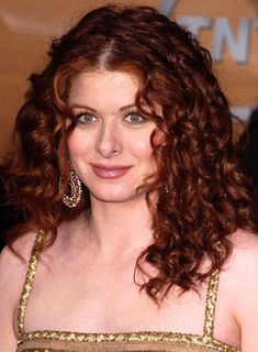 I loved Debra Messing on Will and Grace.  I've always had a thing for her hair.