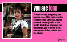 I took Zimbio's 'Pretty in Pink' quiz and I'm Iona! Are You Pretty Quiz, Love Quiz, Quiz Me, Best Life Advice, Weird Science, The Breakfast Club, Good Movies, Awesome Movies, Take My