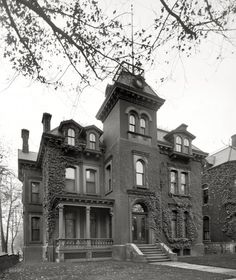 Residence of W. McMillan was the son of U. Senator McMillan and was named General Manager of Detroit and Cleveland Navigation Company in (Shorpy Historical Photo Archive :: American Gothic: Abandoned Detroit, Abandoned Houses, Abandoned Places, Old Houses, American Gothic, Shorpy Historical Photos, Old Victorian Homes, Victorian Houses, Victorian Era