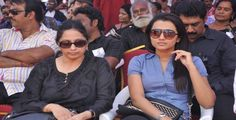 There have been words going around saying that film actress Trisha Krishnan is hospitalized in Hyderabad owing to sickness from food poisoning. The actress' mother, Uma Krishnan has cleared the air on the issue.Trisha, who has been at her film career for over 14 years, is currently working on 'Mohini', 'Sathuranga Vettai 2', 'Garjanai'... Trisha Krishnan, Food Poisoning, Go Around, Currently Working, Hyderabad, Round Sunglasses, Career, Actresses, Film
