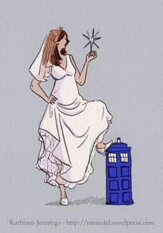 The Runaway Bride, via Flickr. (MY absolute favorite episodes are with her.)