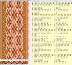 40 tarjetas, 4 colores, repite cada 32 movimientos // sed_745 diseñado en GTT༺❁