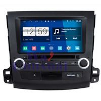 Promotion Car Styling 1024*600 HD Quad Core 16G 8'' Pure Android 4.4.4 Car DVD Player for MITSUBISHI Outlander GPS Navigation