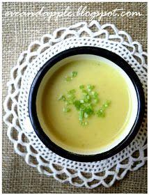 Eve and Apple: Póréhagyma krémleves Soup, Apple, Ethnic Recipes, Apple Fruit, Soups, Apples