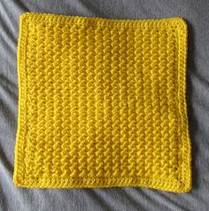 Crocheted Version of the Knitted Moss Stitch