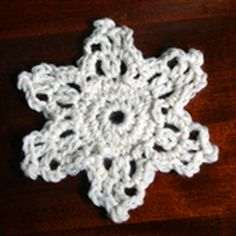 Try This Easy Snowflake for Your Next Crochet Project
