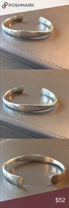 James Avery sterling silver cuff bracelet James Avery Sterling silver hammered cuff bracelet Jewelry Bracelets