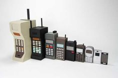 Evolution Of The Cell Phone -Picture Of The Day