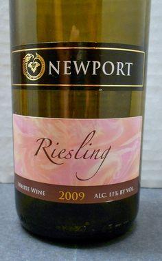 Rhode Island (Newport Vineyards Riesling)