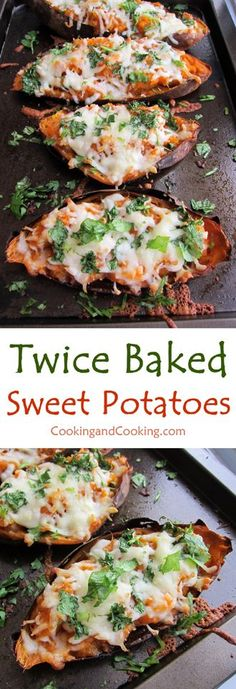 Twice Baked Sweet Potatoes Recipe