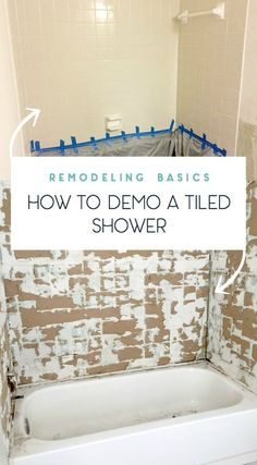 Tips On How To Remove Old Shower Tile