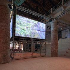 Monditalia Stage F by OMA/AMO - Frameweb #architecture #biennale #cinema #italy #monditalia #venice