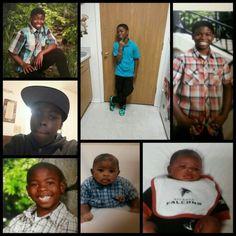 My 1st born grandson,  Quavis Tate.  D.O.B  9/22/15.  Nana loves you.