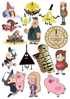 "Результат пошуку зображень за запитом ""стикеры гравити фолз билл"" Printable Stickers, Cute Stickers, Planner Stickers, Fall Drawings, Cute Drawings, Monster Falls, Adventure Time Style, Kawaii 365, Desenhos Gravity Falls"
