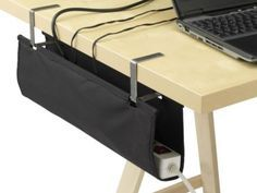 IKEA Signum Cable Organizer   5 Ways To Clean Up Computer Cable Clutter Under Your Desk