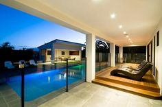 Pool & glass