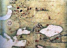 Морская карта 1549 г