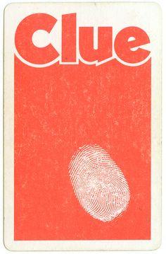Board game - Clue 70's