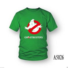 Ghostbusters Ghost Busters Movie Logo Standard Tee T-Shirt cosplay