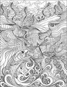 phil lewis art coloring books for adults abstract coloring pagescool