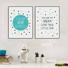 Canvas Wall Art Kids Room Nursery