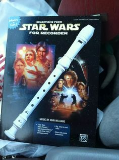 Star Wars music for the recorder