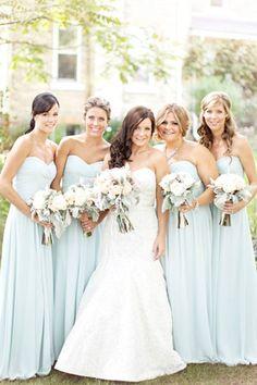blue wedding palette flowers bouquet // brides of adelaide magazine