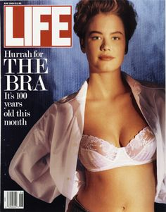 LIFE Magazine June 1989 - History of the Bra / Lingerie
