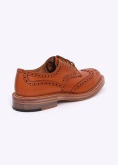 Trickers by Triads Derby Brogues - Acorn Antique Derby, Brogues, Acorn, Mary Janes, Flats, Antiques, Fitness, Shoes, Design