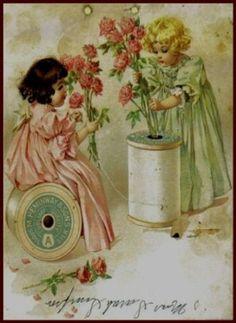 Amazon.com: Calendar by Maud Humphrey Art Print (1893 / 1993) , Size: 8.1/2 X 11 Inches: Home & Kitchen