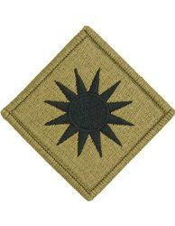 NSN: 8455-01-647-5760 (UNIT PATCH, 40TH INFANTRY DIVISION, MULTICAM / OCP) - ArmyProperty.com