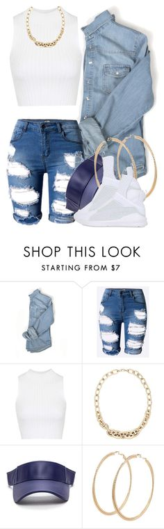"""""""5 9 16"""" by miizz-starburst ❤ liked on Polyvore featuring Topshop, LOFT, Forever 21 and Puma"""