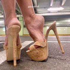 Do visit regularly as we often have new heels. Girls Heels, Pink Heels, Stiletto Heels, Shoes Heels, Very High Heels, Hot High Heels, Platform High Heels, Women's Feet, Feet Soles