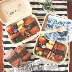 いい天気すぎる〜〜 やっとペーパーランチボックスを使う時がきた!♡ お家にあるものでお弁当作って海ゴーRIH☺︎ @ri4ri4 holiday ≫≫...Instagram photo | Websta (Webstagram)