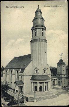 paul-gerhardt-kirche berlin - Google Search