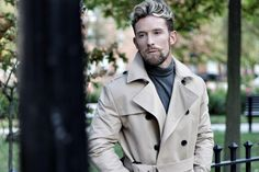 Stanley Dru is a successful businessman who runs a luxury grooming products company and a very popular fashion and lifestyle blogger. Male Fashion, Fashion Bloggers, Raincoat, Popular, Running, Lifestyle, Luxury, Products, Moda Masculina