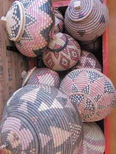 Woven Baskets in South Africa