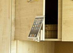 Wood cookbook holder Ipad stand Kitchen tablet stand Dock station Iphone holder Tech trends Adjustable phone stand Useful gifts for a friend Smart Kitchen, Kitchen Storage, Recipe Book Holders, Cookbook Holder, Iphone Holder, Tablet Holder, Ipad Stand, Tablet Stand, Phone Stand