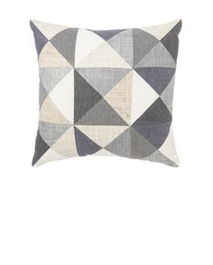 MEGAN PARK SMALL PATCHED CUSHION - NEUTRAL #formfunctstyle
