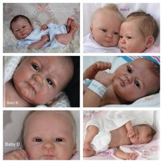 Custom Elisa Marx sculpts! Soft silicone/vinyl mixture, full limbs & belly plate reborn baby sale!  You pick details!